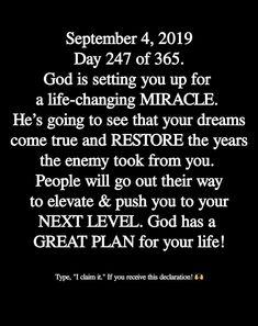 I claim it! Biblical Verses, Prayer Verses, Faith Prayer, Prayer Quotes, Jesus Quotes, New Quotes, Daily Quotes, Prayers Of Encouragement, Gods Timing