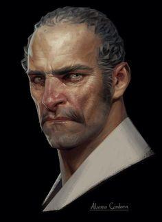 ArtStation - Dishonored 2: Death of the Outsider concept art, Sergey Kolesov