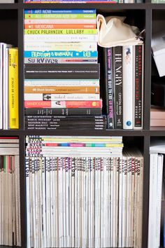 Love seeing stacks of books and magazines. It makes me so happy. I just go through my stacks periodically to see if I want to continue to keep all publications. I don't want to become a hoarder. With mags I tag the articles and pictures I like and if I see tags in the magazine I know I should check the magazine before I throw it out. Anyway,that's my system. People who visit always want to read my books and magazines. It's like a reading room at the library, which to me is heaven. Biddy…