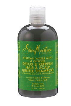 African Water Mint & Ginger Detox Hair & Scalp Gentle Shampoo