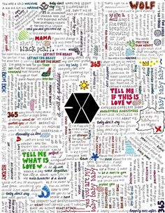 Exo song lyrics- I'd love this on a poster