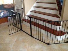 Baby Gate For Irregular Stair Opening Baby Gates