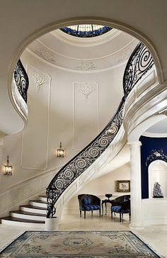 Glamorous staircase!