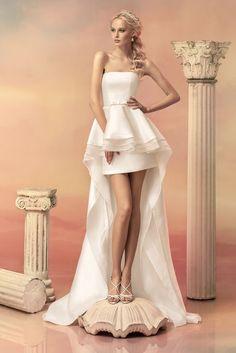 efc810b5feb9 79 Best Wedding Dresses: Short Skirts images in 2019 | Alon livne ...