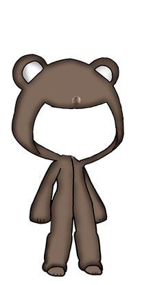 #gachalife#Pajamas#bear #freetoedit #remixit Drawing Anime Clothes, Manga Clothes, Cute Anime Chibi, Kawaii Anime, Kawaii Drawings, Cute Drawings, Casa Anime, Chibi Eyes, Anime Poses Reference