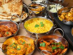 Curries and naans and masalas, oh my! - Indian food
