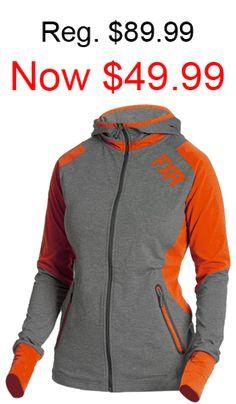 FXR Mens Race Division T-Shirt 2020 Gray Heather//Orange - Large