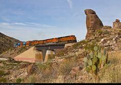 RailPictures.Net Photo: BNSF 7289 BNSF Railway GE ES44DC at Kingman , Arizona by David Carballido-Jeans