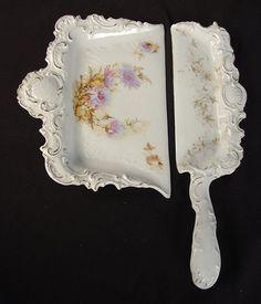 Victorian Porcelain Crumb Dish