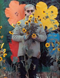 Andy Warhol   Photo/William John Kennedy via Allen Cooper Enterprises