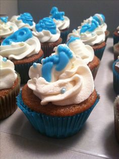 Cupcakes Para Baby Shower | Tartas, Galletas, Cupcakes, ... | Pinterest | Baby  Showers, Showers And Cupcake