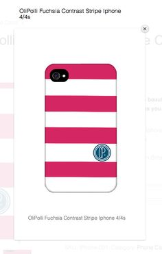 New OliPolli Phone covers - So simple and summery!! Everyone loves a stripe! http://www.olipolli.co.uk/product/olipolli-contrast-stripe-phone-case-2/