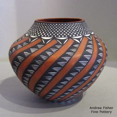 Native American Pottery, Native American Indians, Pueblo Pottery, New Mexican, Native Indian, Antiquities, Item Number, Ceramic Bowls, Gourds