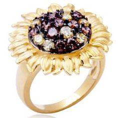 Sunflower Ring #summery