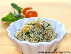 Quinoa with Mint and Kumquat--because you love kumquats and quinoa :)