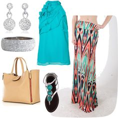 """Turquoise Dream"" by jholsinger on Polyvore"