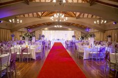 Mood Lighting along with a fairy light back drop can transform a venue.