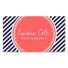 Preppy business card preppy standard business cards pinterest colourmoves