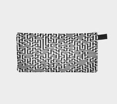 """Pencil case """"Amazing maze how sweet your lines"""" by Mindgoop"""
