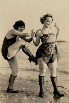 A Beach Frolic, ca.1928.