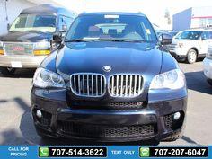 2012 BMW X5 xDrive50i 75k miles Black $29,995 75397 miles 707-514-3622 Transmission: Automatic  #BMW #X5 #used #cars #NinoMotors #Vallejo #CA #tapcars