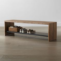 Organize your foyer with entryway benches from Crate and Barrel. Browse a variety of styles including benches with storage. Order entryway benches online.>