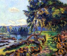 Les rapides a Genetin - Armand Guillaumin