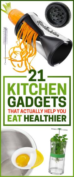 21 Kitchen Gadgets That Actually Help You Eat Healthier