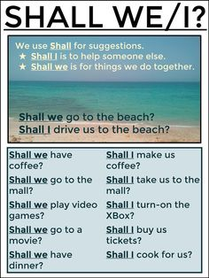 SHALL WE/I? #EnglishVocabulary #EnglishSpeaking #LearnEnglish @English4Matura