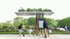 Estación WiFi Marquesina Concept JCDecaux