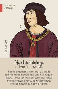 Juego de 7 familias reales de España: Juan II de Castilla, Juan II de Aragón, Carlos I, Felipe IV, Felipe V, Carlos III, Alfonso XIII