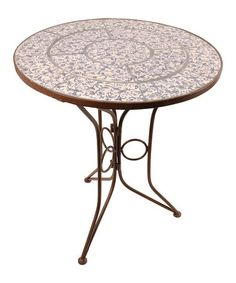Take a look at this Blue Toile Ceramic Table by Fallen Fruits on #zulily today!