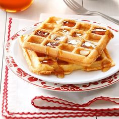 Light 'n' Crispy Waffles Waffle Recipe Uk, Waffle Recipe Allrecipes, Waffle Batter Recipe, Ground Turkey Casserole, Healthy Waffles, Crispy Waffle, Homemade Waffles, Coconut Flour, Almond Milk