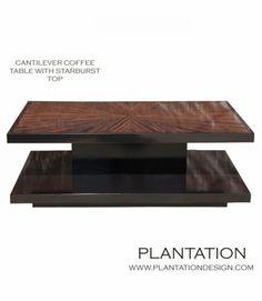 Cantilever Coffee Table | Macassar Rectangle No. 2