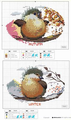 Four Seasons: Free pattern (part 2)