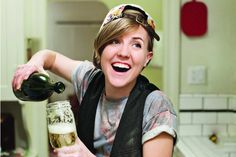 An Afternoon Drink With 'My Drunk Kitchen' Star and Cookbook Author Hannah Hart