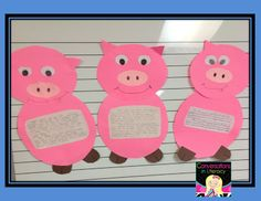 Teaching to compare and contrast with 3 Little Pigs