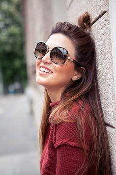 Summer shades with the Ferragamo Buckle Sunglasses