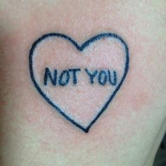 ♡ NOT YOU ♡