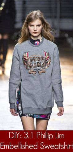 Do your own 3.1 Phillip Lim embellished sweatshirt