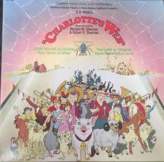 Charlotte's Web-Music/Lyrics by Richard & Robert Sherman-Vinyl & Cover Pop Up
