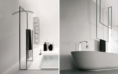 TANDEM-UP FREESTANDING TOWEL HOLDER BY ANTONIO LUPI | Ambient Bathrooms