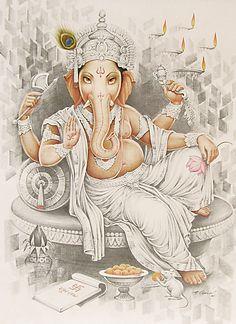 Ganesha. Just look at those dreamy bedroom eyes.