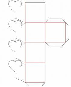 Cajitas para regalo para imprimir gratis - Imagui