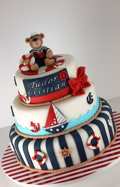 So cute for a baby boy shower - for a boy and if nautical themed. No clue what theme yet for nursery! Need gender first!
