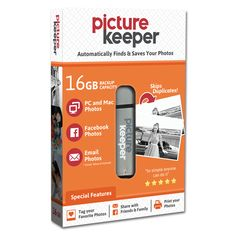 Holds on average 8,000 photos http://picturekeeper.com/shop/pk/drives/16gb-photo-backup-usb