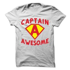 Captain Awesome T-Shirt - #sweatshirt upcycle #comfy sweatshirt. FASTER:   => https://www.sunfrog.com/Funny/Captain-Awesome-T-Shirt.html?id=60505