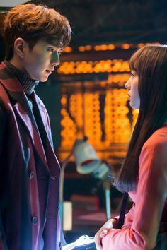 Kdrama I am not a robot starring at each other Kdrama, Live Action, Yoo Seung-ho, My Shy Boss, W Two Worlds, The Man Who Laughs, Chines Drama, Robot Wallpaper, Korean Couple