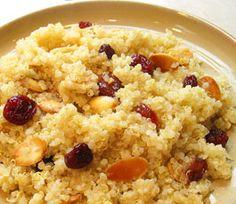 Quinoa Almond Cranberry Stovetop Casserole