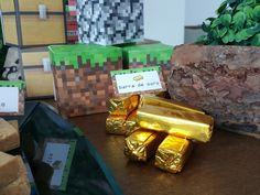 festa Minecraft em casa